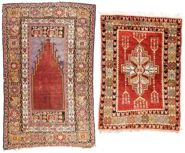 2 Antique Turkish Rugs