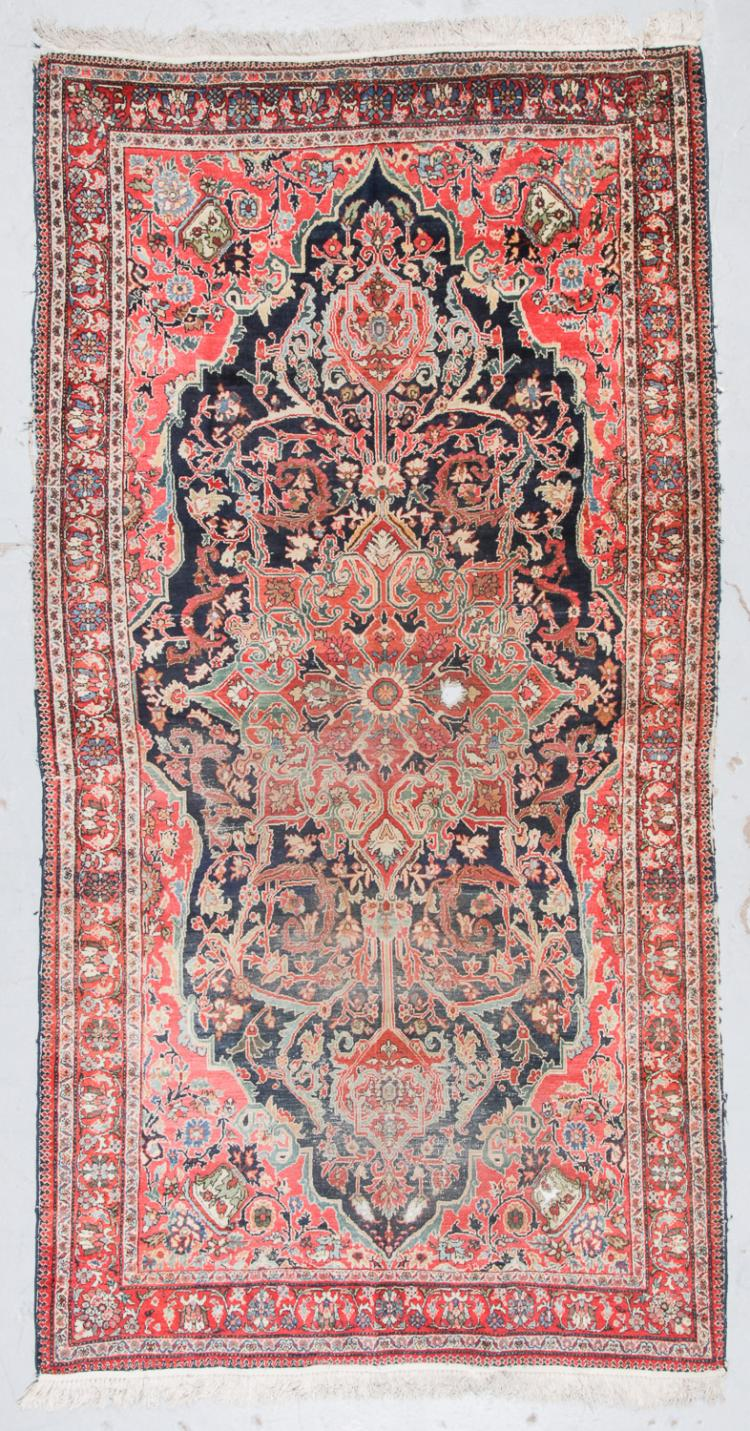 Antique Ferahan Rug, Persia: 5'9'' x 9'8''