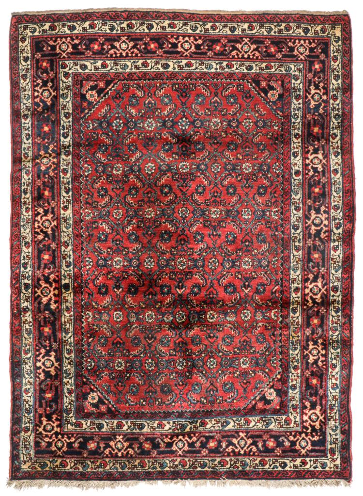 Semi-Antique Injelas Rug, Persia: 4'9'' x 6'6''