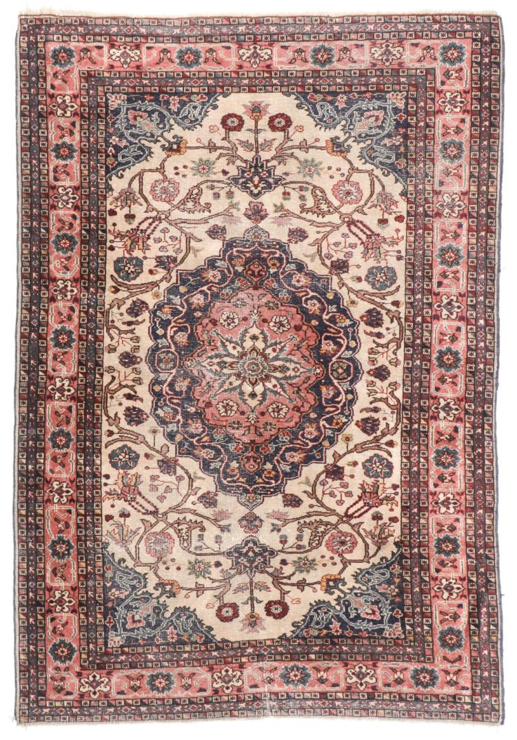 Antique Ferahan Rug, Persia: 3'10'' x 5'8''