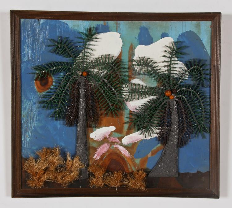 Maurice Woodlock (20th c.) Palm Trees