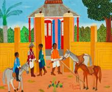 Freddy Cherizard (Haitian, 20th c.) Painting