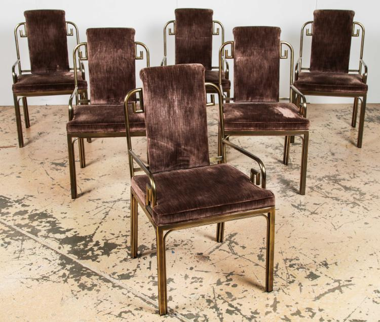 Set Of 6 Baker Dining Room Chairs