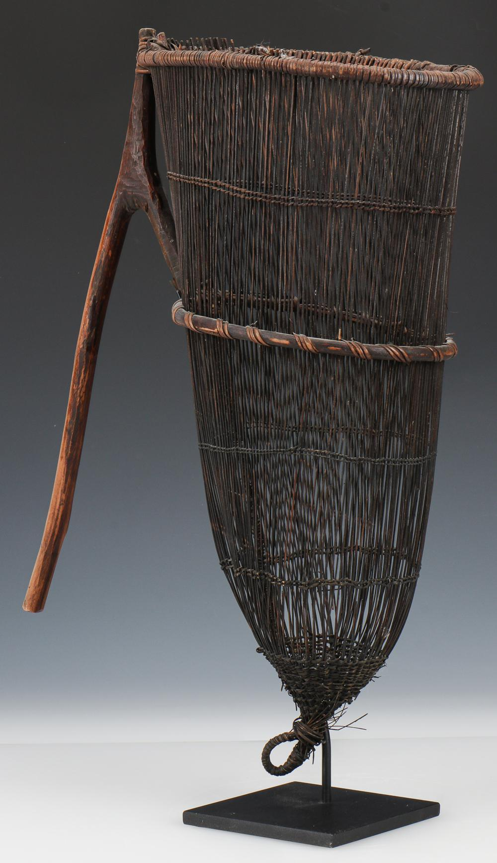 Nissan Island Fish Basket, PNG, Early/Mid 20th C.