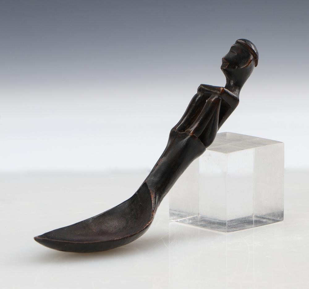 Antique Ifugao Carved Wood Spoon, Philippines