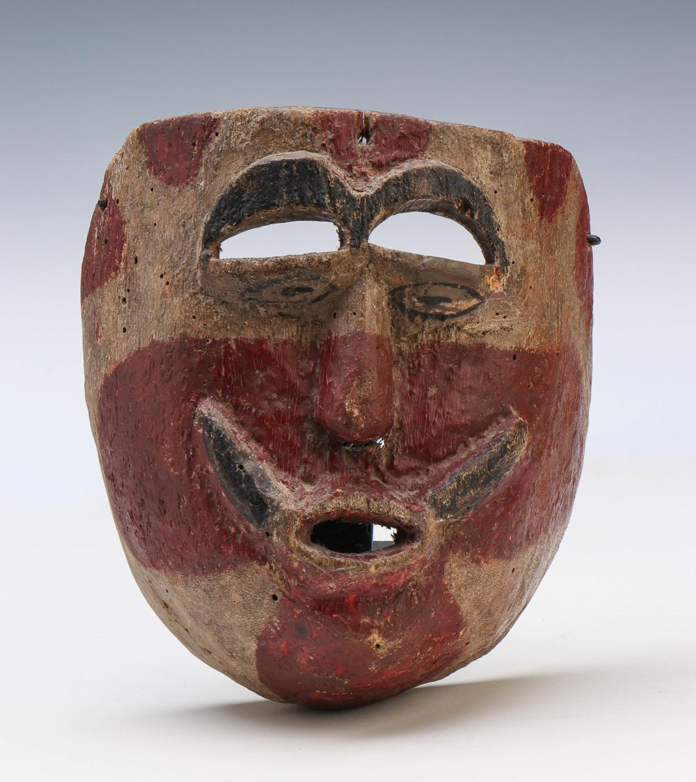 Mexican Dance Mask, Mid-20th Century