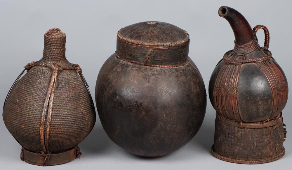 Three African Containers, Cameroon