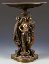 After Emile Boyer Bronze Tazza