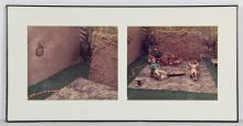 David Levinthal Style Dyptich of C-Prints
