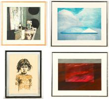 4 Color Lithographs by Various Artists (20th c.)