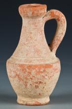 Ancient Etruscan Pottery Ewer