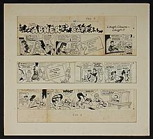 Al Capp (1909-1979) Li'l Abner Original Comic Art
