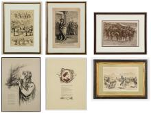 Collection of 6 Antique Prints