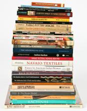 Library of Native American Art Reference Books