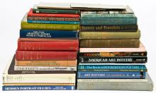 Library of Pottery And Porcelain Art Reference Books