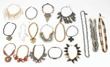 Estate Lot of Costume Jewelry Necklaces