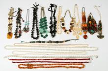 Estate Lot of Costume Jewelry Bead Necklaces