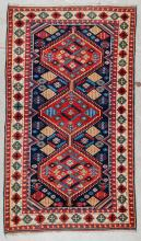 Vintage Turkish Rug: 3'5'' x 5'11''