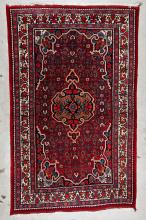 Semi-Antique Bidjar Rug: 4'8'' x 7'4''