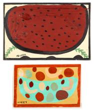 Mose Tolliver (1925-2006) Two Works