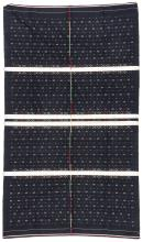 Finely Woven Cotton Blanket, Chin People, Burma