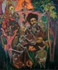 Saul Raskin 1878-1966 (American) The Baal Shem-Tov, c. 1940 oil on canvasboard