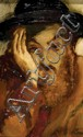**Mane Katz 1894-1962 (Russian, French) Portrait oil on canvas