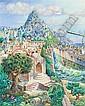 Nahum Gilboa b. 1917 (Israeli) Exodus oil on canvas, Nahum  Gilboa, Click for value