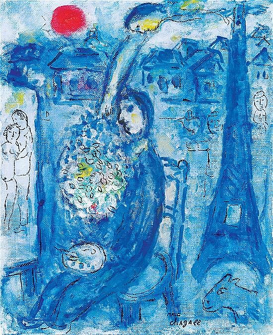 Marc chagall 1887 1985 russian french l 39 inspiration du for Chagall peintre