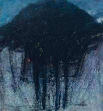 Aharon Messeg b.1942 (Israeli) Untitled oil on canvas