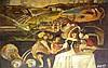 Gretty Rubinstein Rotman 1947-2001 (Israeli) Women in a landscape oil on board, Gretty Rubinstein, Click for value