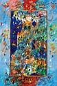 Ben Avram b.1937 (Israeli) The Twelve Tribes oil on canvas
