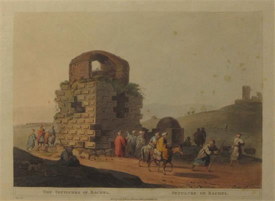 Luigi Mayer 1755-1803 (Italian) The sepulchre of Rachel, 1803 engraving