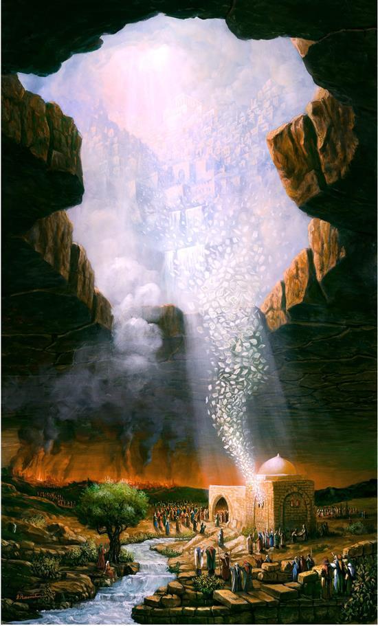 Yossi Rosenstein b.1950 (Israeli) The prayer of Rachel, 2004 oil on canvas