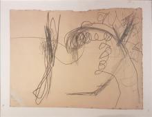 Raffi Lavie 1937-2007 (Israeli) Untitled, 1961 HB pencil on paper