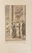 Francesco Polanzani 1700- (Italian) Four etchings from the Life of Mary- Nativity of the Virgin (III); Wedding (VI); Circumcision (...