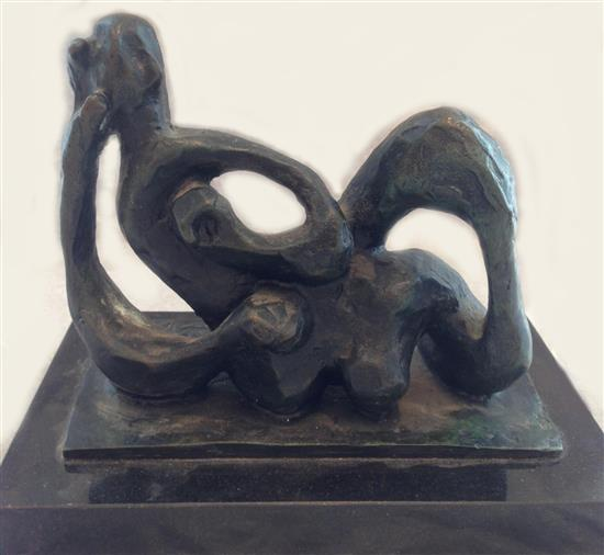 After Jacques Lipchitz 1891-1973 (French) Variation on a theme by Hagar bronze