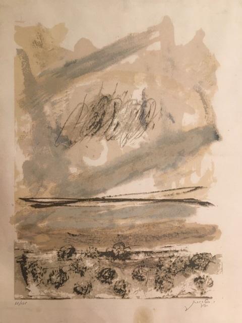 Yehezkel Streichman 1906-1993 (Israeli) Untitled lithograph