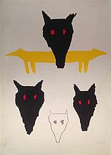 Zadok Ben David b.1949 (Israeli) Untitled, 1988 lithograph