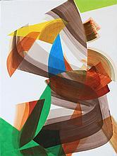 Jean Yohanan Delaunay b.1955 (French, Israeli) Ellio Island 8.36, 2005/2007 acrylic on canvas