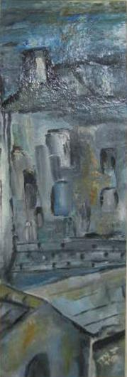 Hanna Givon Untitled, 1981 oil on masonite