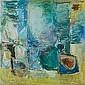 Pinchas Abramovich 1909-1986 (Israeli) Untitled, 1964-65 oil on canvas, Pinchas Abramovich, Click for value