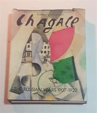 Aleksandr Kamensky author); Chagall: The Russian Years, 1907-1922, Published by Rizzoli, New York, 1989. Hardcover book (376 pages...