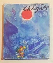 Leon Amiel (author); Homage to Chagall Hardcover, 1982. Published by Leon Amiel publisher, New York 1982