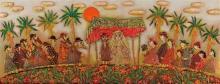 Ina Belous b.1960 (Israeli) Wedding mixed media on canvas