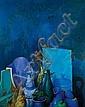 ** Samuel Bak b. 1933 (Israeli) Composition oil on canvas, Samuel Bak, Click for value