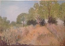 Natasha Brilliantova b. 1973 (Russian, Israeli) Landscape, 2009 oil on canvas