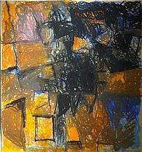 Avigdor Arikha 1929-2010 (Israeli) Abstract composition, 1967 pastel crayons on paper