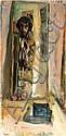 Leonid Balaklav b. 1956 (Israeli) Self-portrait, 1994 oil on canvas, Leonid Balaklav, Click for value