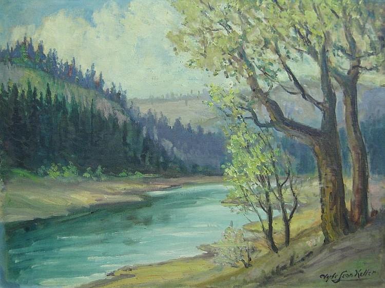 CLYDE LEON KELLER (American, 1872-1962)